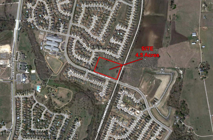 ±4.59 Acre Commercial Tract <br>Chandler Creek Boulevard <br>Round Rock, TX